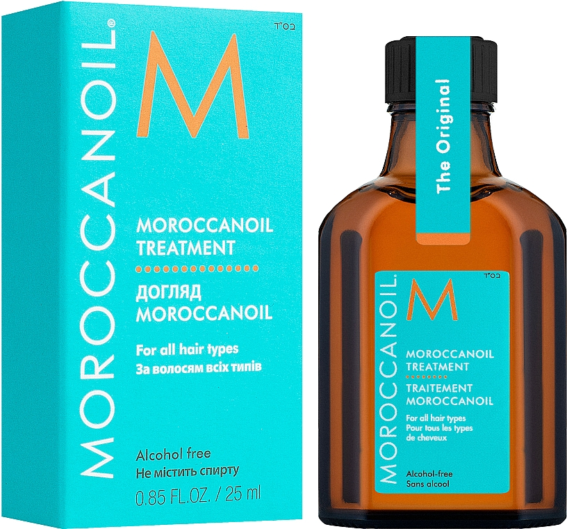 Восстанавливающее масло для волос - MoroccanOil Oil Treatment For All Hair Types