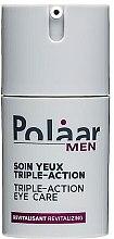 Духи, Парфюмерия, косметика Сыворотка для контура глаз - Polaar Men Soin Yeux Triple Action
