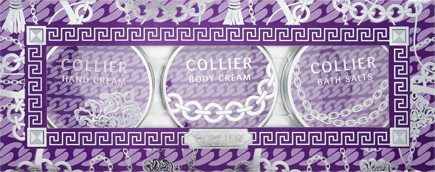 """Набор """"Гармония и свежесть"""" - Mades Cosmetics Collier (b/cr/50ml + h/cr/50ml + salt/50g)"""