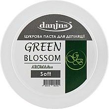 """Духи, Парфюмерия, косметика Парфюмированная сахарная паста для депиляции """"Зеленый свет"""", мягкая - Danins Green Blossom Sugar Paste Soft"""