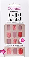 Духи, Парфюмерия, косметика Набор искусственных ногтей с клеем, 3072 - Donegal Express Your Beauty