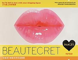 Духи, Парфюмерия, косметика Коллагеновая маска патч для губ с экстрактом меда - Images Beauty Collagen Honey