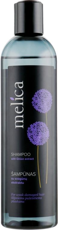 Шампунь с экстрактом лука для поврежденных волос - Melica Shampoo