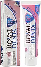"Духи, Парфюмерия, косметика Зубная паста с серебром ""Сенситив"" - Royal Denta Sensitive Silver Technology Toothpaste"