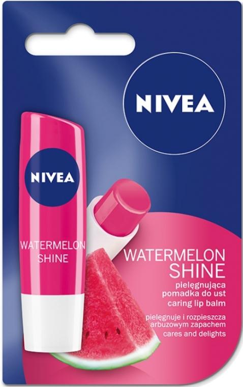 """Бальзам для губ """"Фруктовое сияние Арбуз"""" - Nivea Fruity Shine Watermelon Lip Balm"""
