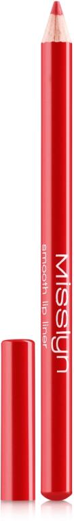 Олівець для губ - Misslyn Smooth Lip Liner  — фото N1
