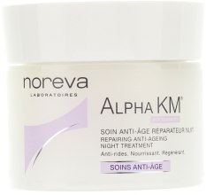 Духи, Парфюмерия, косметика Восстанавливающий ночной крем против старения - Noreva Laboratoires Alpha KM Repairing Anti-Ageing Night Treatment