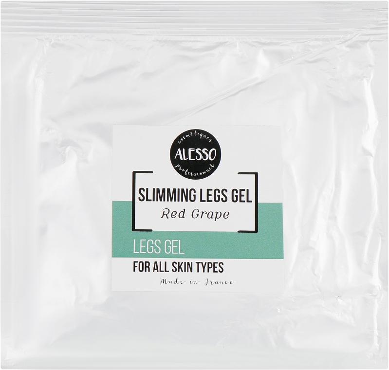 Освежающий крем-гель для ног - Alesso Professionnel Vitalizing Leg Gel (саше)