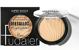 Духи, Парфюмерия, косметика Хайлайтер - Pudaier Super Shock Contour & Highlight Palette