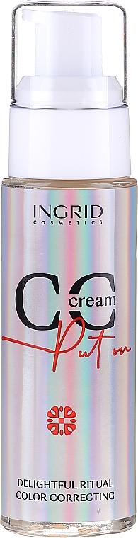 Тональный СС-крем для лица - Ingrid Cosmetics CC Cream Put On Delightful Ritual Color Correcting