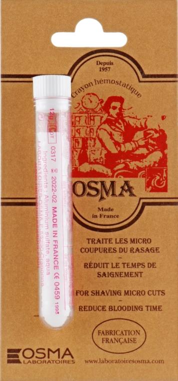 Карандаш кровоостанавливающий - OSMA Rasage Hemo Stop Styptic Pencil