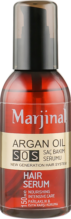 Сыворотка для волос с аргановым маслом - Marjinal Argan Oil Hair Serum