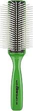 """Духи, Парфюмерия, косметика Расческа для волос """"C-150"""", 9 рядов, зеленая - Vess"""