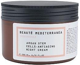 Духи, Парфюмерия, косметика Ночной крем для лица антивозрастной - Beaute Mediterranea Argan Stem Cells Antiaging Night Cream