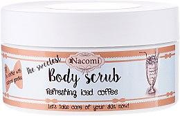 Духи, Парфюмерия, косметика Сахарный скраб для тела с кофе - Nacomi Body Scrub Refreshing Iced Coffee