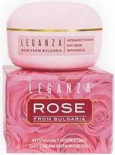 Духи, Парфюмерия, косметика Интенсивный увлажняющий дневной крем с розовым маслом - Leganza Rose Intensively Hydrating Day Cream