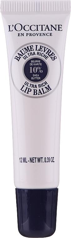 "Увлажняющий бальзам для губ ""Карите"" - L'Occitane Lip Balm 10 % Shea Butter"