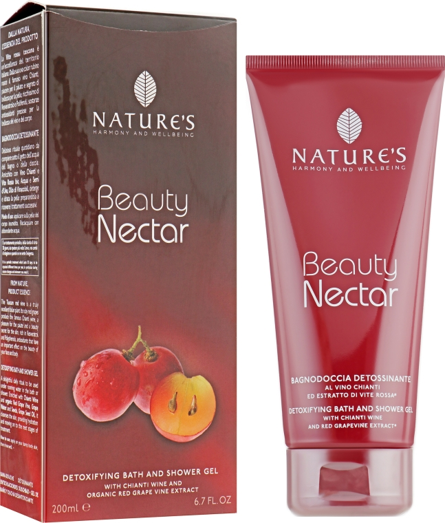 Гель для душа и ванны - Nature's Beauty Nectar Detoxifying Bath & Shower Gel