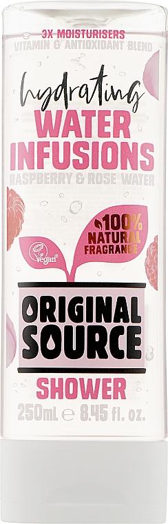 Гель для душа - Original Source Raspberry & Rose Water Shower Gel