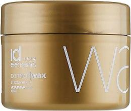 Духи, Парфюмерия, косметика Воск для надежной укладки - idHair Elements Gold Control Wax Strong Hold