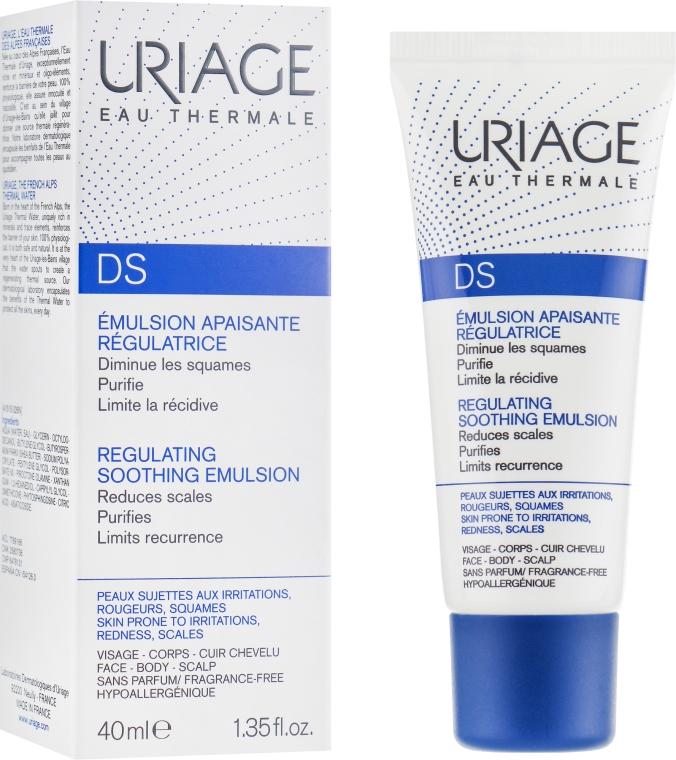 Uriage D.S. Emulsion - Успокаивающая эмульсия против покраснений и раздражений: купить по лучшей цене в Украине | Makeup.ua