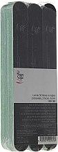 """Духи, Парфюмерия, косметика Комплект двухсторонних пилочек для ногтей """"Грандиозная"""", 100/180, черные - Peggy Sage 2-Way Washable Nail Files"""
