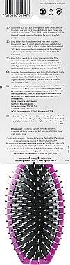 """Щітка масажна """"Fashion"""", велика, фіолетова - Trisa — фото N2"""