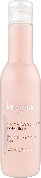 "Крем-гель для душа и ванны ""Роза"" - Blancreme Foaming Cream"