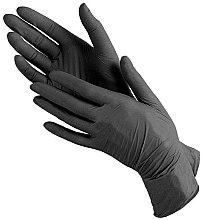 Духи, Парфюмерия, косметика Перчатки нитриловые текстурированные нестерильные неприпудренные, размер S (6-7) - Polix PRO&MED Extra Safe Black