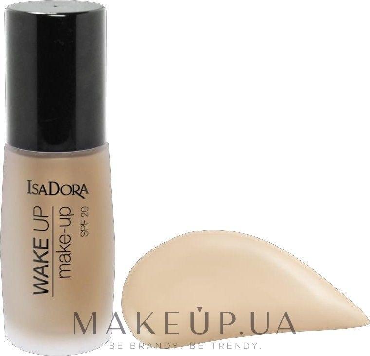 Тональная основа - IsaDora Wake Up Make-Up Foundation SPF 20 — фото 00 - Fair