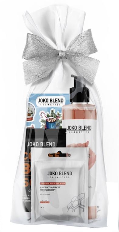 Подарочный набор - Joko Blend Citrus Splash Set (f/mask/20g + sh/gel/260ml + b/scr/50g + stickers)