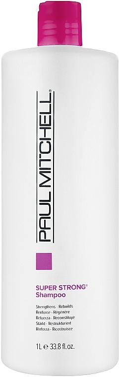 Восстанавливающий и укрепляющий шампунь - Paul Mitchell Strength Super Strong Daily Shampoo