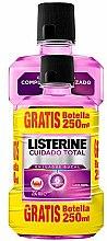 Духи, Парфюмерия, косметика Набор - Listerine Total Care (mouthwash/500ml + mouthwash/250ml)