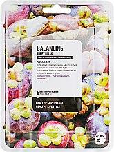 """Духи, Парфюмерия, косметика Тканевая маска для лица """"Мангостин"""" - Superfood For Skin Balancing Sheet Mask"""