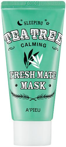 Ночная маска с чайным деревом - A'PIEU Fresh Mate TEA TREE Mask