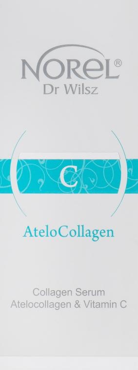 Сыворотка с коллагеном и витамином С - Norel AteloCollagen Collagen Serum Atelocollagen & Vitamin C