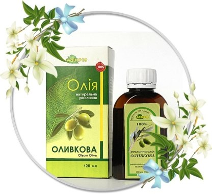 "Натуральное масло ""Оливковое"" - Адверсо"