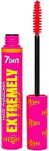 Духи, Парфюмерия, косметика Светящаяся тушь для волос - 7 Days Extremely Chick UVglow Neon Hair Mascara