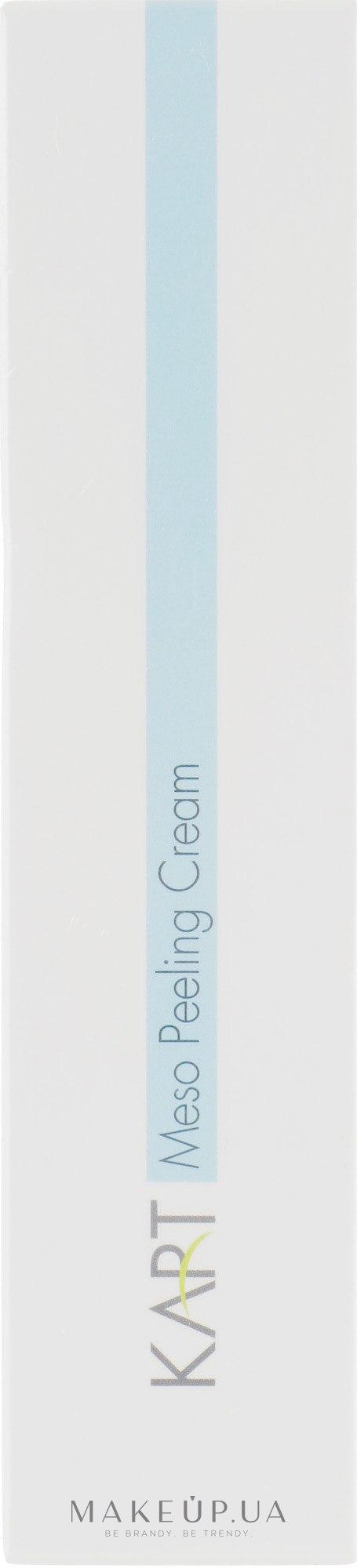 Мезо крем-пілінг - Kart Innovation Meso Peeling Cream — фото 100ml