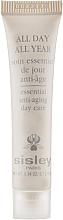 Парфумерія, косметика Антивіковий крем для обличчя - Sisley All Day All Year Essential Anti-aging Day Care (міні)