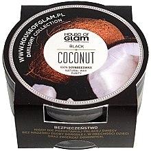 Духи, Парфюмерия, косметика Ароматическая свеча - House of Glam Black Coconut Candle (мини)