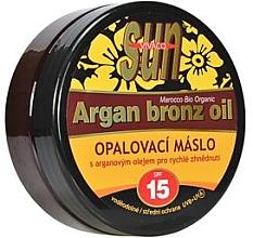 Духи, Парфюмерия, косметика Масло для загара - Vivaco Sun Argan Bronz Oil SPF 15