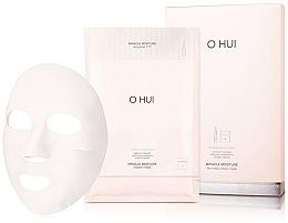 Духи, Парфюмерия, косметика Тканевая маска с ампулой - O Hui Miracle Moisture Ampoule & Cream Mask