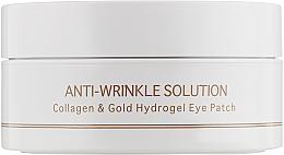 Духи, Парфюмерия, косметика Гидрогелевые патчи для глаз с коллагеном и коллоидным золотом, стандартный размер - BeauuGreen Collagen & Gold Hydrogel Eye Patch