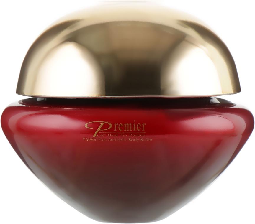 Ароматичне масло для тіла - Premier Dead Sea Passion Fruit Aromatic Body Butter — фото N1