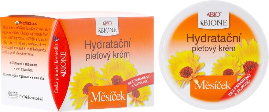 Увлажняющий крем для лица - Bione Cosmetics Marigold Hydrating Facial Cream