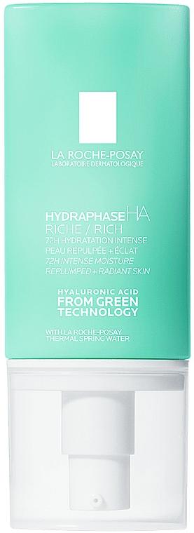Интенсивный увлажняющий крем для сухой чувствительной кожи лица - La Roche-Posay Hydraphase HA Rich
