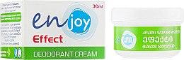 Духи, Парфюмерия, косметика Эко-крем-дезодорант - Enjoy & Joy Light Scent Deodorant Cream