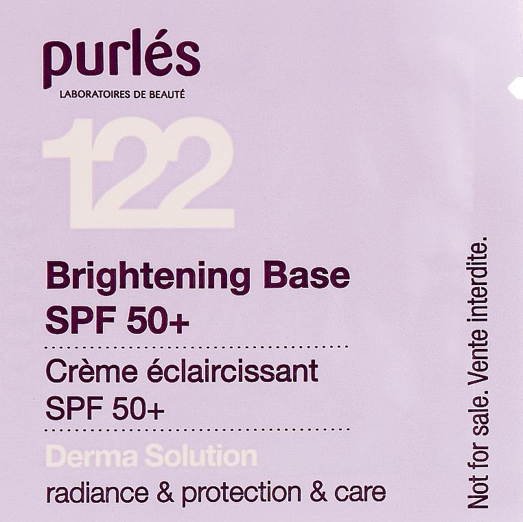 Сияющая основа SPF 50+ с тонирующим эффектом - Purles Brightening Base SPF 50+ (пробник)