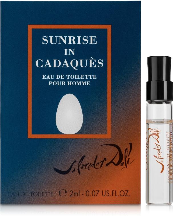 Salvador Dali Sunrise In Cadaques Pour Homme - Туалетная вода (пробник)